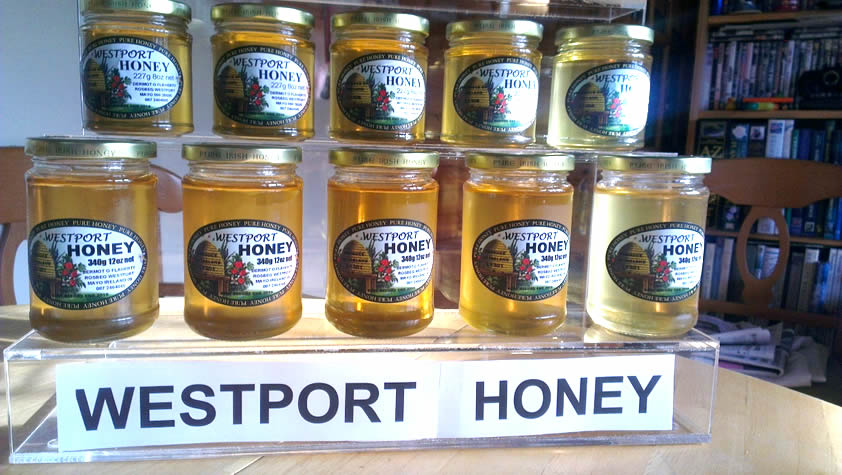 Westport Honey on Display