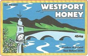 Westport Honey Label